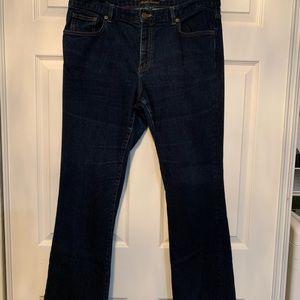 Woman's Lauren Ralph Lauren Bootcut Jeans
